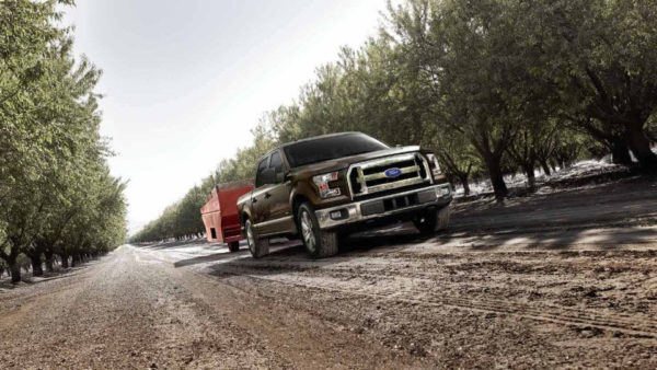 Ford F-150 with Diesel engine